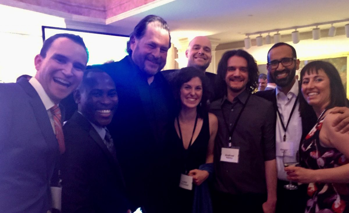 Group Shot with Benioff